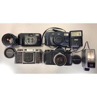 PENTAX - ASAHI PENTAX&ESPIO115 等ヴィンテージカメラ4点&レンズ諸々