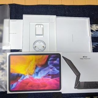 Apple - ipad11pro第2世代256GB 保証付。マジックキーボード付。