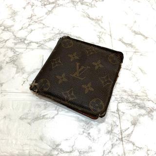 ルイヴィトン(LOUIS VUITTON)の正規品、ルイヴィトン モノグラム 二つ折り財布、即日発送(折り財布)