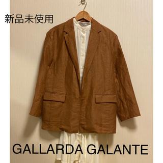 ガリャルダガランテ(GALLARDA GALANTE)の新品未使用❣️ガリャルダガランテ ❣️麻ジャケット定価32000円+税(テーラードジャケット)
