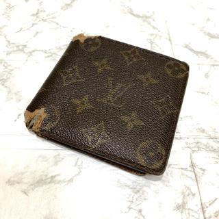 ルイヴィトン(LOUIS VUITTON)の正規品、ルイヴィトンモノグラム、折り財布、即日発送(折り財布)