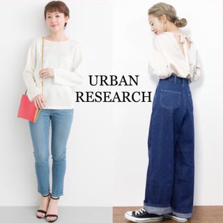 URBAN RESEARCH - 新品 タグ付き アーバンリサーチ バックV プルオーバー ホワイト