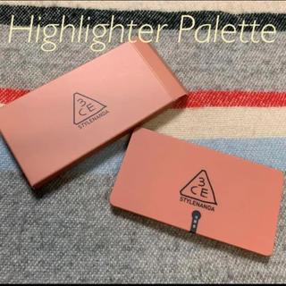 スリーシーイー(3ce)の3CE / Strobing Skin Palette(フェイスカラー)