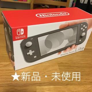 Nintendo Switch - ★新品★ニンテンドースイッチライト グレー