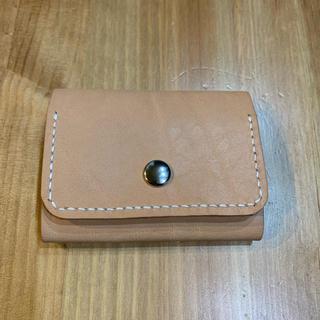 手縫いミニ財布(折り財布)
