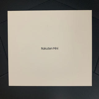 ラクテン(Rakuten)のRakuten Mini ブラック [新品](スマートフォン本体)