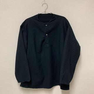 ワンエルディーケーセレクト(1LDK SELECT)のロシア軍 スリーピングシャツ 50 デッド 後染め黒 m47 m-47 m52(Tシャツ/カットソー(七分/長袖))