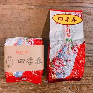 台湾茶 梨山四季春烏龍茶75g 2つセット
