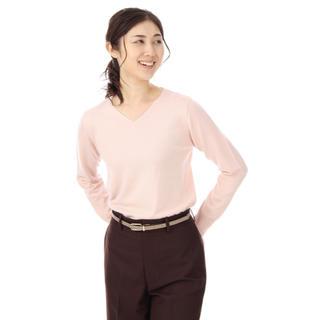 アオヤマ(青山)の洋服の青山 レディスVネックニット(ニット/セーター)