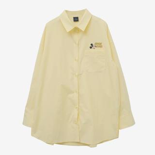 スタイルナンダ(STYLENANDA)のmickey mouseコラボシャツ🐭💛(Tシャツ(長袖/七分))