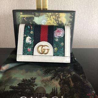 Gucci - GUCCI グッチ ヒグチユウコ コラボ カードケース 財布