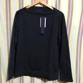 ジョンローレンスサリバン(JOHN LAWRENCE SULLIVAN)の【未使用品】juun.j デザインカットソー 46 black(Tシャツ/カットソー(七分/長袖))