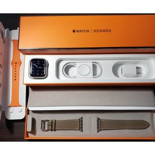 アップルウォッチ(Apple Watch)のApple Watch Hermes Series5 44mm アップルウォッチ(その他)