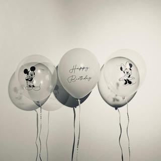 誕生日 バースデー バルーン 風船 ディズニー & one ケーキトッパー(その他)