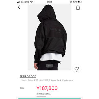 FEAR OF GOD - fear of god /フィアオブゴッド   6th