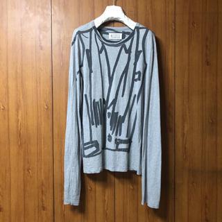 マルタンマルジェラ(Maison Martin Margiela)のMaison Martin Margiela ロングスリーブTee size48(Tシャツ/カットソー(半袖/袖なし))