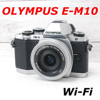 OLYMPUS - ❤️Wi-Fi機能搭載❤️バッテリー2個付き❤️OLYMPUS E-M10