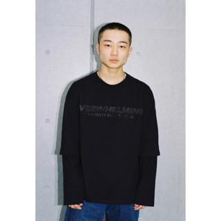 ジョンローレンスサリバン(JOHN LAWRENCE SULLIVAN)のttt dairiku OVERWHELMINGlayered T-shirt(Tシャツ/カットソー(七分/長袖))