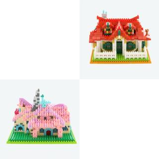 Disney - ナノブロック  ミッキーハウス ミニーハウス セット