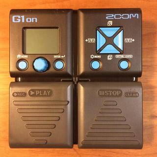 ズーム(Zoom)のZOOMマルチエフェクターG1on(エフェクター)