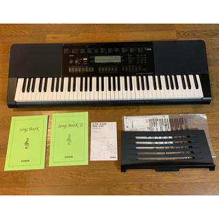 カシオ(CASIO)の【美品】 76鍵盤 カシオ 電子キーボード CASIO WK-245 電子ピアノ(電子ピアノ)