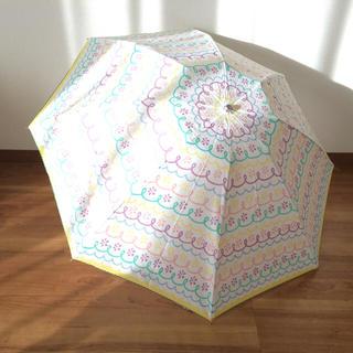 クリニーク(CLINIQUE)の晴雨兼用折りたたみ傘(傘)