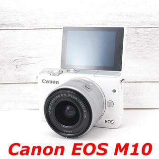 Canon - ❤️Wi-Fi機能搭載❤️自撮り❤️Canon EOS M10