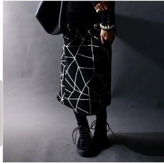 アンティカ(antiqua)のアンティカ 変形スカート モード(ひざ丈スカート)