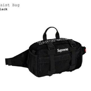 シュプリーム(Supreme)のSupreme Waist Bag Black 黒 シュプリーム 19fw(ボディーバッグ)