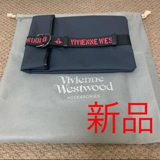 ヴィヴィアンウエストウッド(Vivienne Westwood)の新品 ヴィヴィアンウエストウッド クラッチバッグ ネイビー バッグ bag(クラッチバッグ)