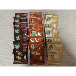 Starbucks Coffee - 【新品】スターバックス  ORIGAMI   ドリップコーヒー 18袋