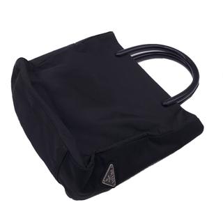 PRADA - PRADA ナイロンプラスチックハンドルトートバッグ