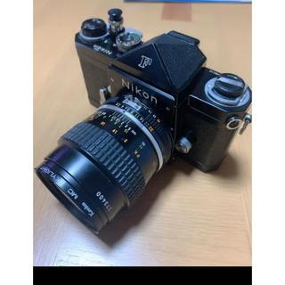 ニコン(Nikon)のNikoo Fアイレベルブラック(フィルムカメラ)