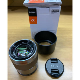 SONY - SONY 50mm F1.8 単焦点 レンズ SEL50F18F