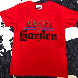 Gucci - 正規品 GUCCI GARDEN Tシャツ 赤 グッチガーデン