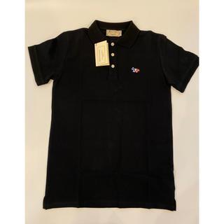 メゾンキツネ(MAISON KITSUNE')の【XSサイズ】新品未使用 メゾンキツネ Maison Kitsune ポロシャツ(ポロシャツ)