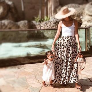 ルームサンマルロクコンテンポラリー(room306 CONTEMPORARY)のroom306 Animal Pattern Maxi Skirt スカート(ロングスカート)