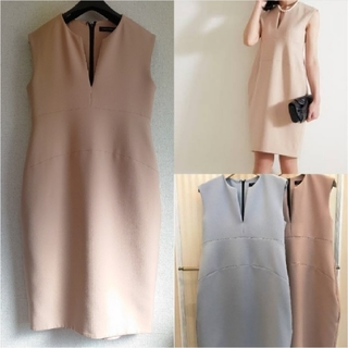 YOKO  CHAN ヨーコチャン/Slit スリットライン ドレス ワンピース