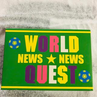 ニュース(NEWS)のWORLD QUEST 限定盤(アイドルグッズ)