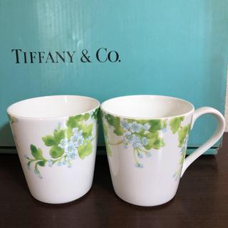 Tiffany & Co. - ティファニー リーフ リーブス マグカップ2セット