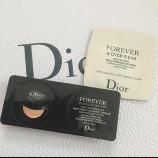 クリスチャンディオール(Christian Dior)のDior ディオール サンプル クッションファンデ 化粧下地 サンプル(ファンデーション)