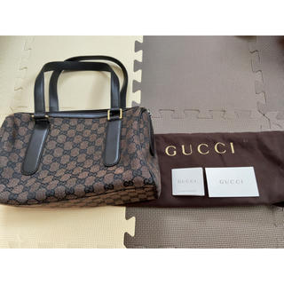 Gucci - GUCCI グッチ GG柄 トートバッグ ボストンバッグ