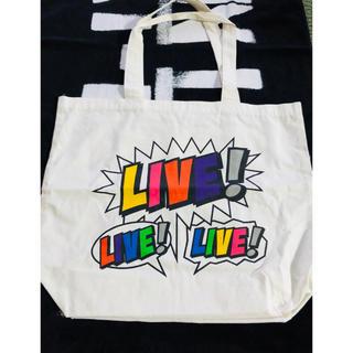 ニュース(NEWS)のLIVE×3 グッズ ツアーバック(アイドルグッズ)