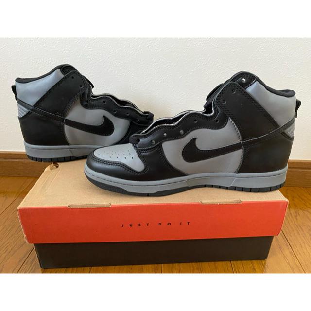 NIKE(ナイキ)の【26.0】未使用 NIKE DUNK 1999年 黒灰 ナイキ ダンク ハイ メンズの靴/シューズ(スニーカー)の商品写真