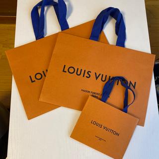 ルイヴィトン(LOUIS VUITTON)のルイヴィトン ショップバック2枚(ショップ袋)