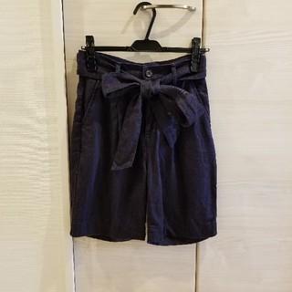 ダブルスタンダードクロージング(DOUBLE STANDARD CLOTHING)のダブルスタンダード・半パンツネイビー(ハーフパンツ)