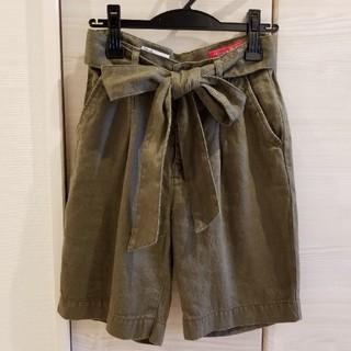 ダブルスタンダードクロージング(DOUBLE STANDARD CLOTHING)のダブルスタンダード・ハーフパンツカーキ(ハーフパンツ)