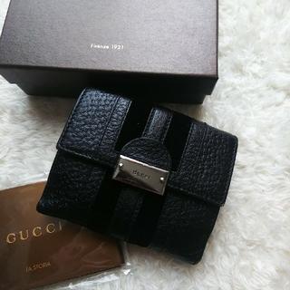 グッチ(Gucci)の【美品】 GUCCI グッチ 2つ折り財布(折り財布)
