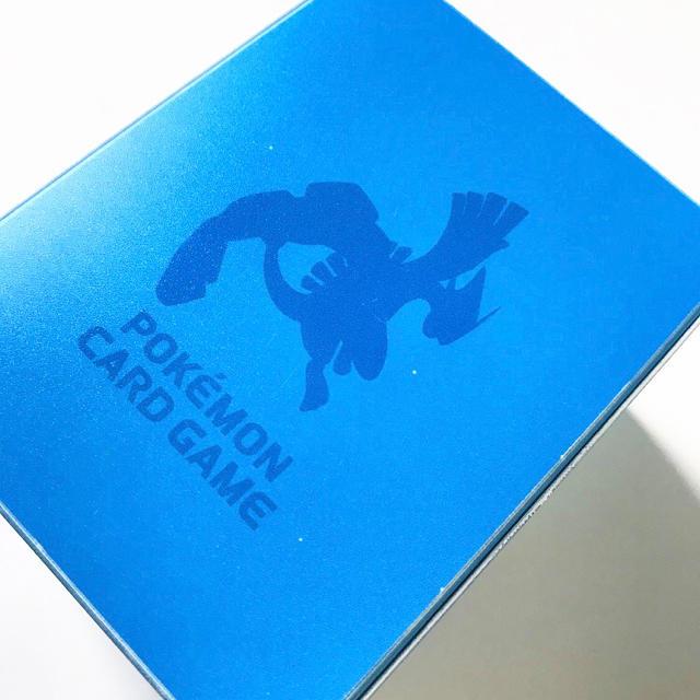 ポケモン(ポケモン)のポケモンカードゲーム デッキケース ルギア エンタメ/ホビーのトレーディングカード(カードサプライ/アクセサリ)の商品写真