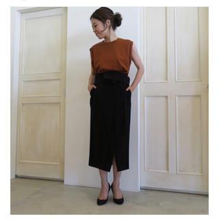 ENFOLD - ENFOLD  ドローストリング スカート
